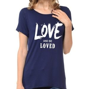 Love and be Loved Graphic Tee